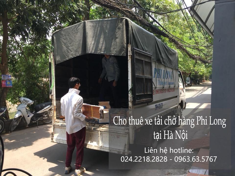 Cho thuê xe taxi tải Hà Nội tại phố Phú Lương