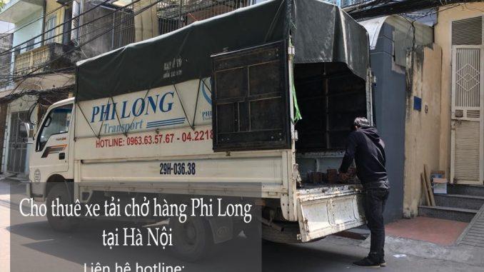 Dịch vụ taxi tải Hà Nội tại phố Trung Yên