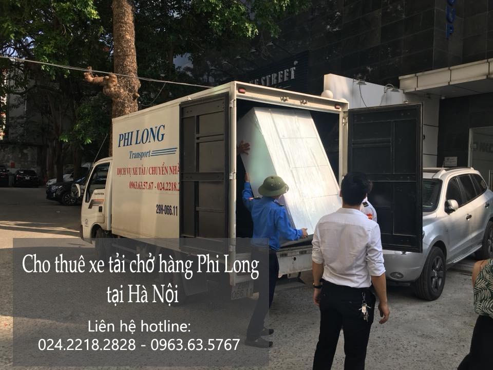 Dịch vụ thuê xe tải uy tín tại phố Triệu Việt Vương