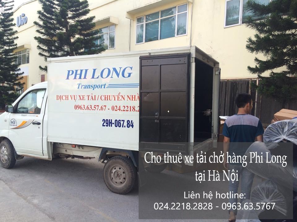 Dịch vụ taxi tải Phi Long tại phố Dương Khuê