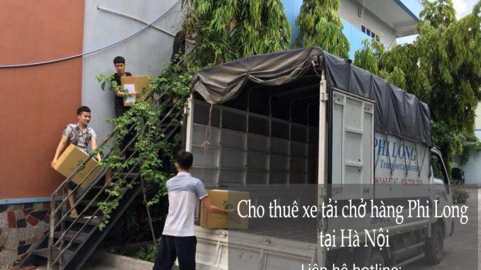 Thuê xe tải 1,25 tấn Hà Nội tại phố Nguyễn Đình Chiểu