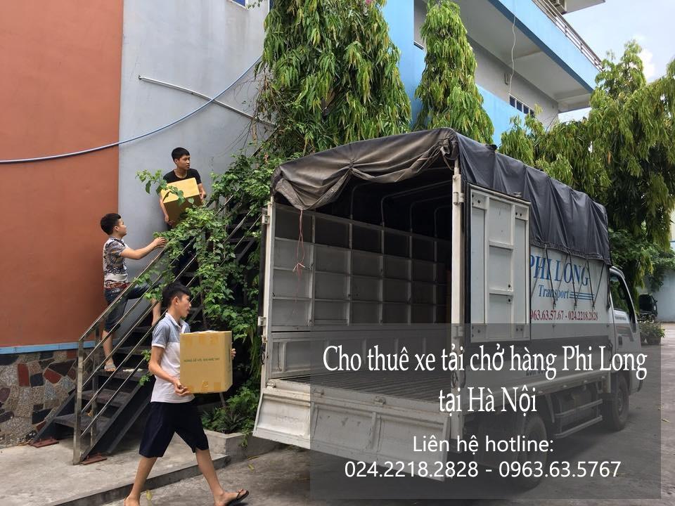 Dịch vụ taxi tải Phi Long tại phố Đồng Bông