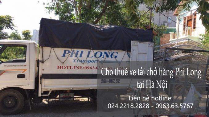 Xe tải chuyển nhà Hà Nội tại phố Nguyễn Công Trứ