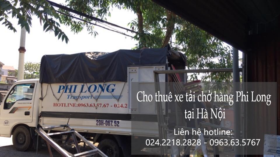 Xe tải chuyển nhà tại phố Đại La