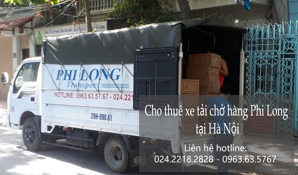 Xe tải chuyển nhà Hà Nội tại phố Hàng Chiếu
