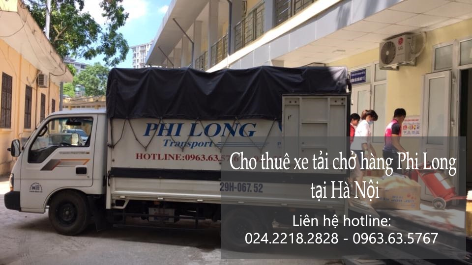 Cho thuê tải chở hàng tại phố Nghĩa Dũng