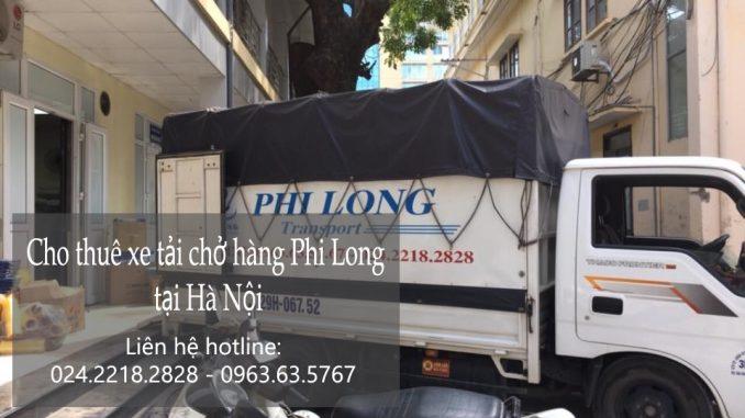 Xe tải chuyển nhà Hà Nội tại phố Phạm Hồng Thái