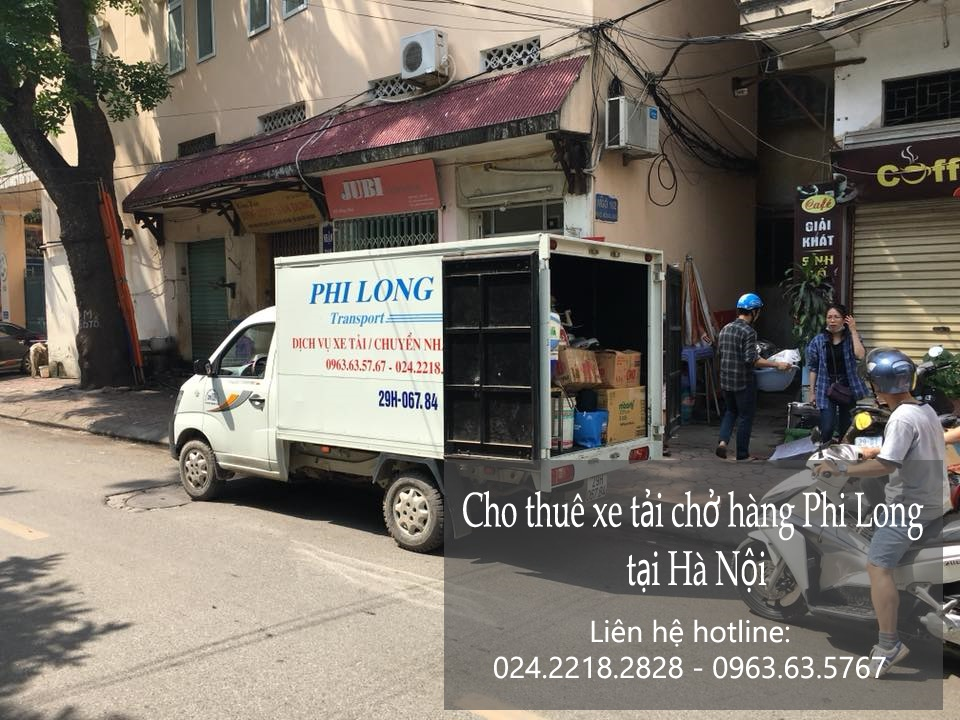 Dịch vụ taxi tải 1,5 tấn chở hàng tại phố Trần Cao Vân