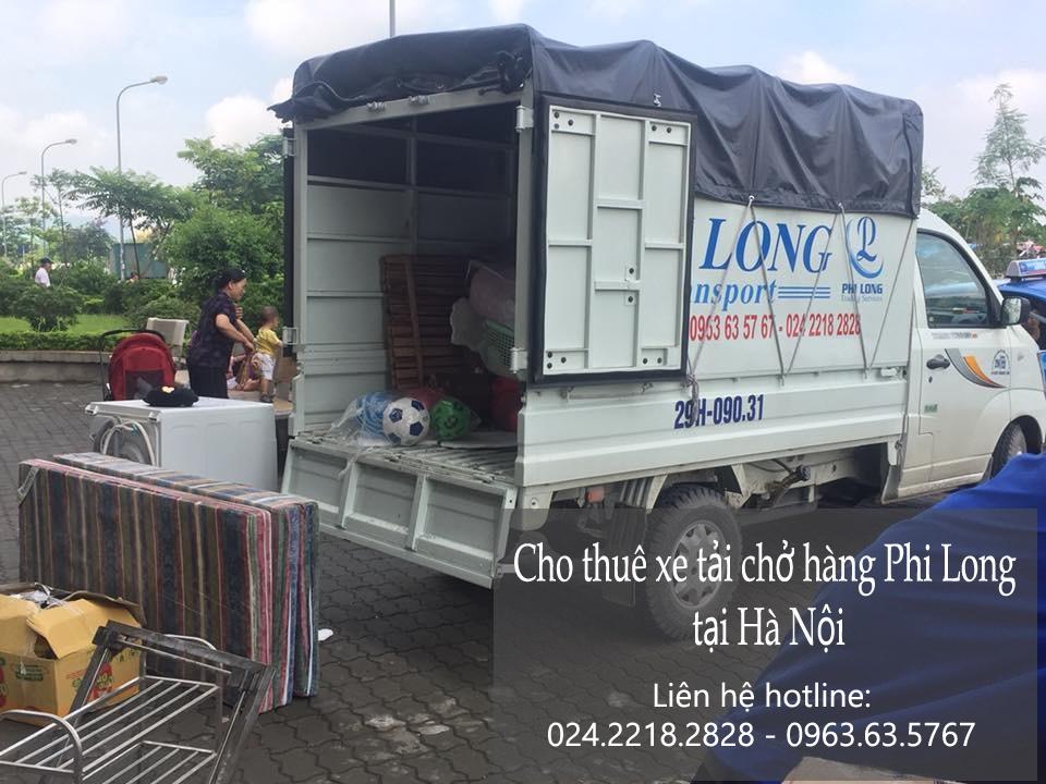 Dịch vụ taxi tải Hà Nội tại phố Nguyễn Siêu