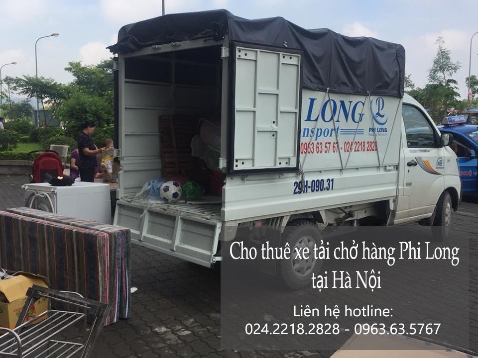 Dịch vụ taxi tải Hà Nội chở hàng tại phố Lý Thái Tổ