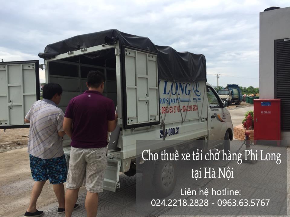 Taxi tải Hà Nội tại phố Thượng Đình 2019