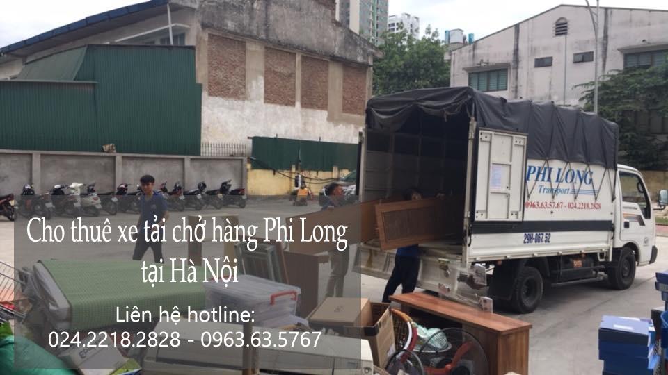 Dịch vụ taxi tải Hà Nội tại phố Phan Chu Trinh