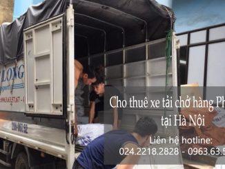 Dịch vụ taxi tải Hà Nội tại đường Đản Dị