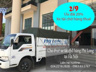Giảm giá khi thuê xe tải vận chuyển ngày Quốc Khánh 2-9