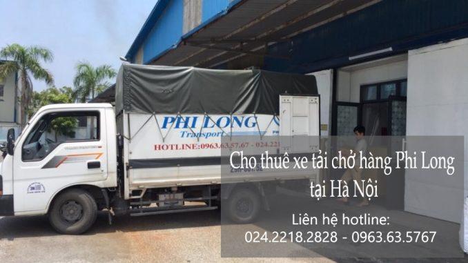 Cho thuê taxi tải Hà Nội tại phố Ngọc Thụy