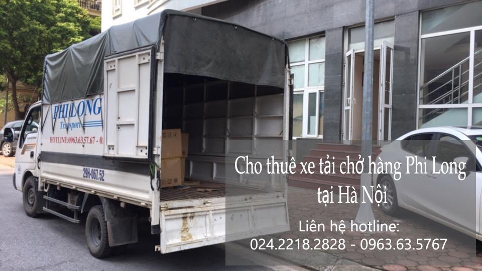 Dịch vụ taxi tải Hà Nội tại phố Thành Thái