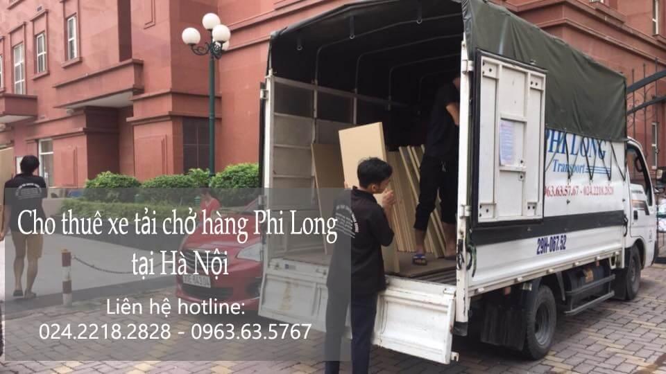 Dịch vụ taxi tải Hà Nội tại phố Châu Long