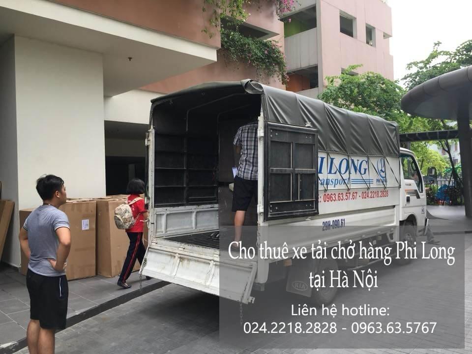 Dịch vụ taxi tải Hà Nội tại phố Hàng Thùng