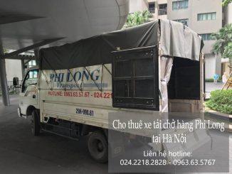 Cho thuê taxi tải tại phố Đốc Ngữ