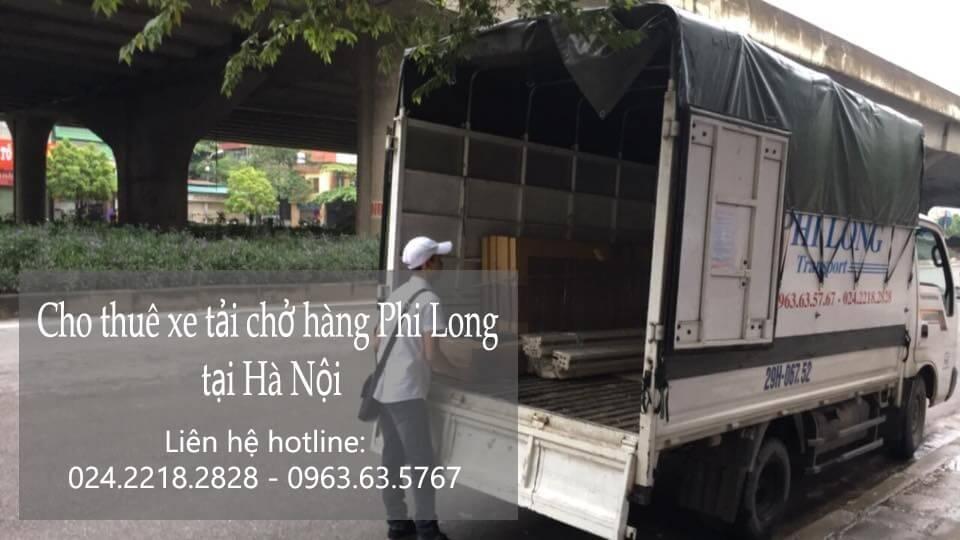 Cho thuê xe taxi tải Hà Nội tại phố Yên Bình