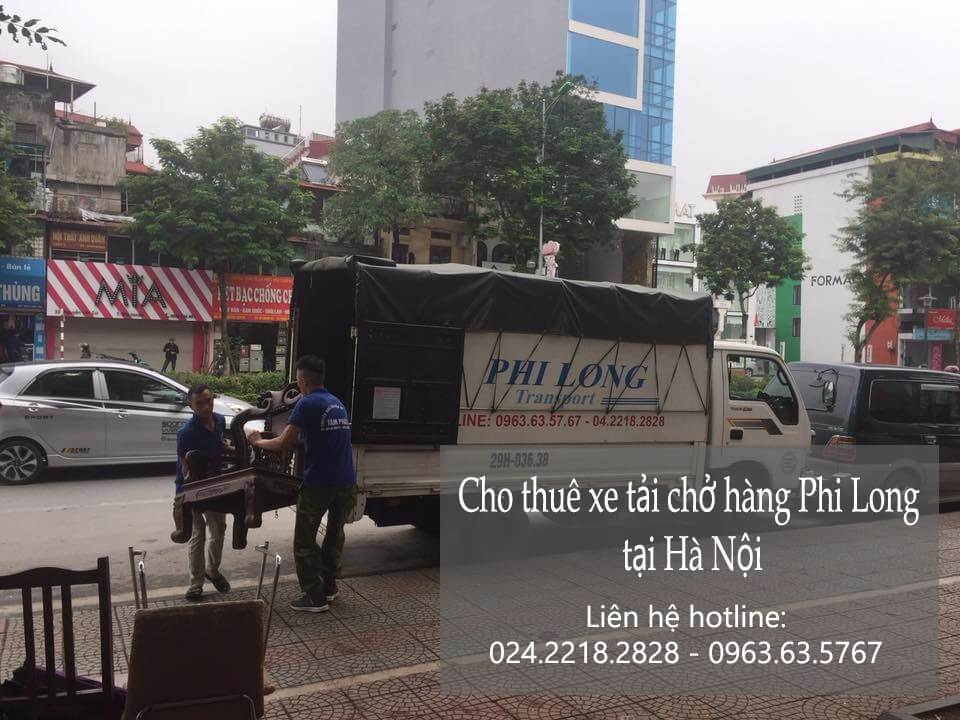Taxi tải tại phố Đoàn Nhữ Hài
