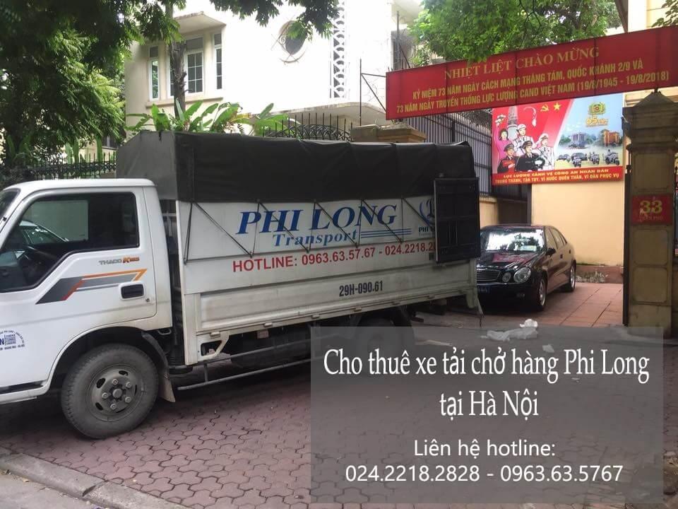 Dịch vụ taxi tải Hà Nội tại phố Đông Các