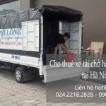 Dịch vụ taxi tải Hà Nội tại phố Cổng Đục