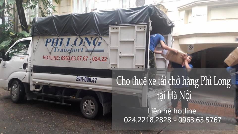 Dịch vụ taxi tải Hà Nội tại phố Hồng Mai