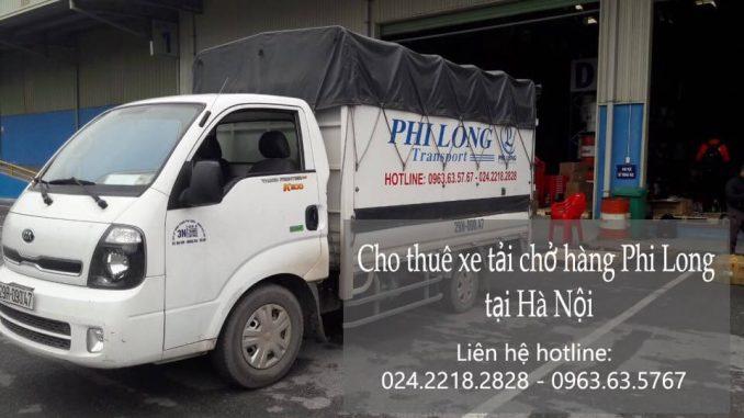 Dịch vụ taxi tải Hà Nội tại phố Chu Huy Mân