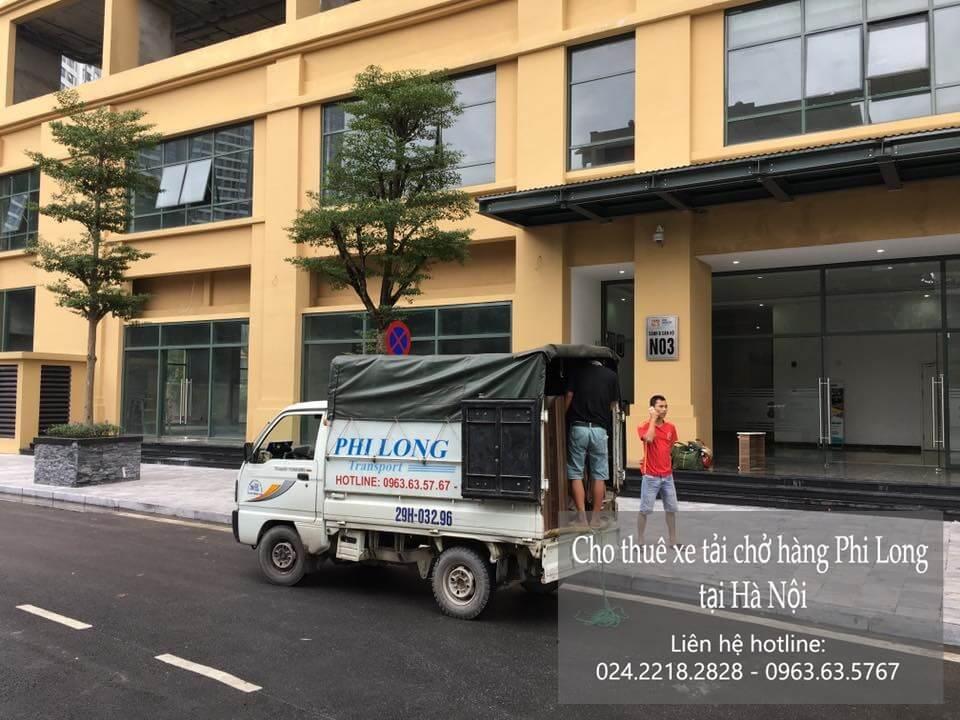 Dịch vụ taxi tải Hà Nội tại phố Duy Tân