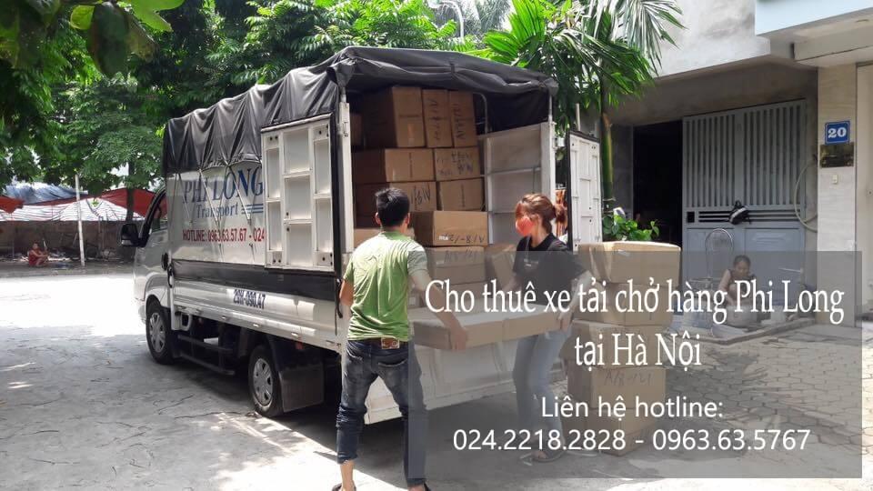 Dịch vụ taxi tải Hà Nội tại phố Cầu Mây