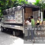 Dịch vụ taxi tải Hà Nội tại phố Chùa Láng