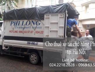 Taxi tải Phi Long cho thuê xe tải giá rẻ tại phường Lĩnh Nam