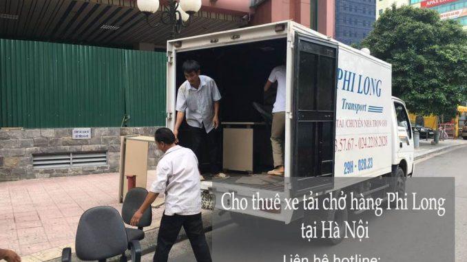 Dịch vụ taxi tải Hà Nội tại phố Gia Ngư