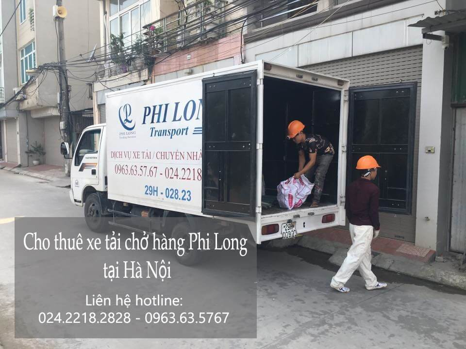 Dịch vụ taxi tải Hà Nội tại đường Hồ Tùng Mậu
