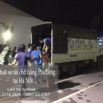 Dịch vụ taxi tải Hà Nội tại phố Hồng Hà