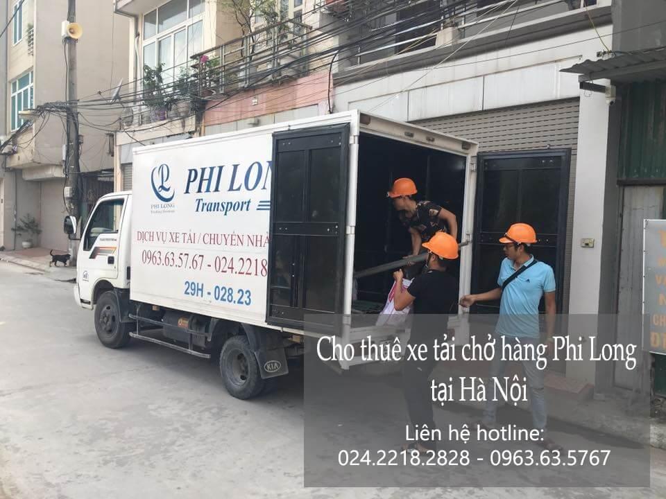Dịch vụ taxi tải Hà Nội tại phố Bà Triệu