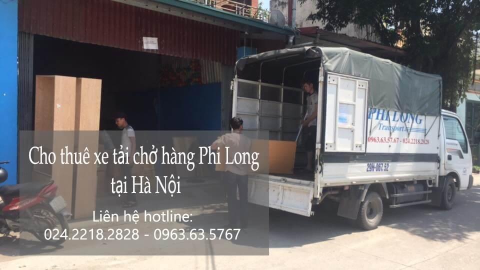 Dịch vụ taxi tải Hà Nội tại phố Hoàng Cầu