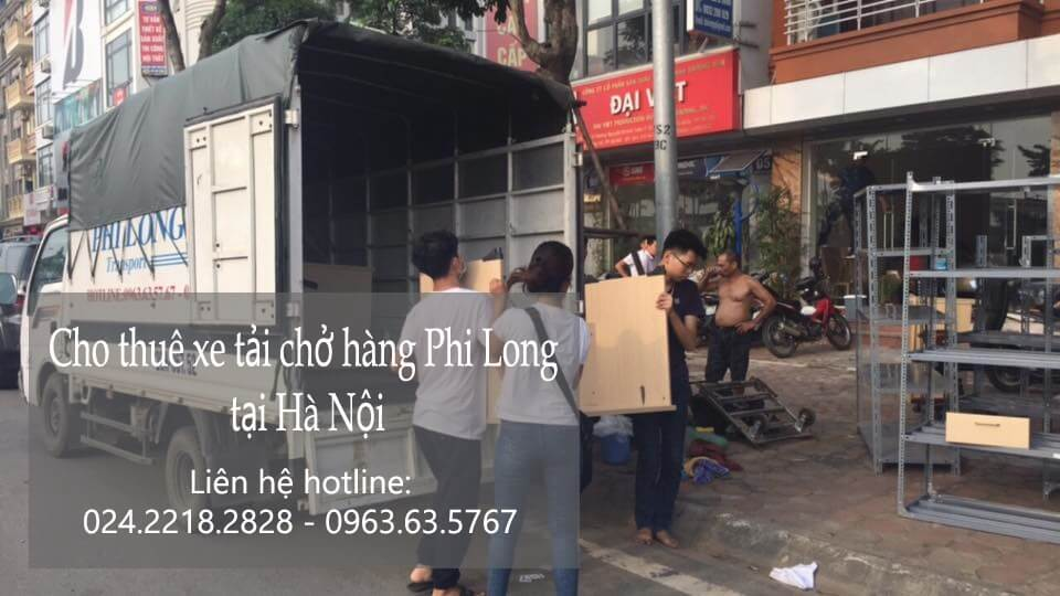 Dịch vụ taxi tải Hà Nội tại phố Hương Viên