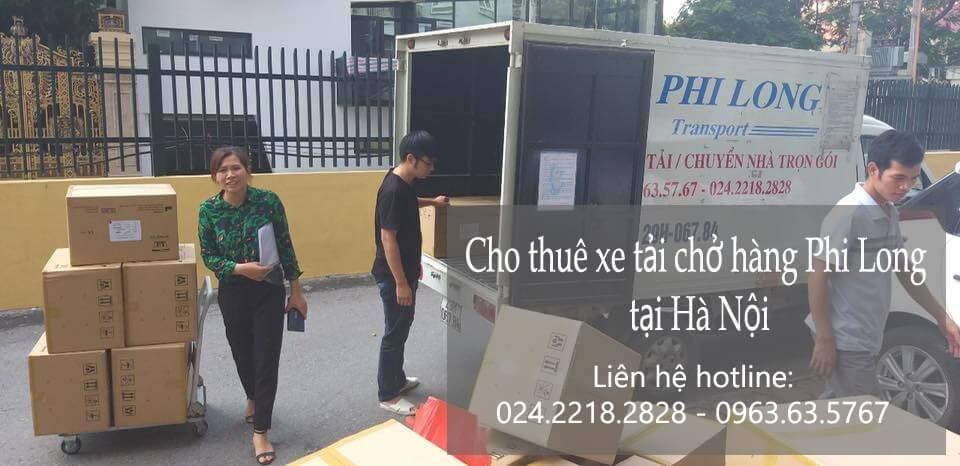 Dịch vụ taxi tải Hà Nội tại phố Nguyễn Như Đổ 2019