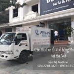 Dịch vụ taxi tải Hà Nội tại phố Lê Hồng Phong