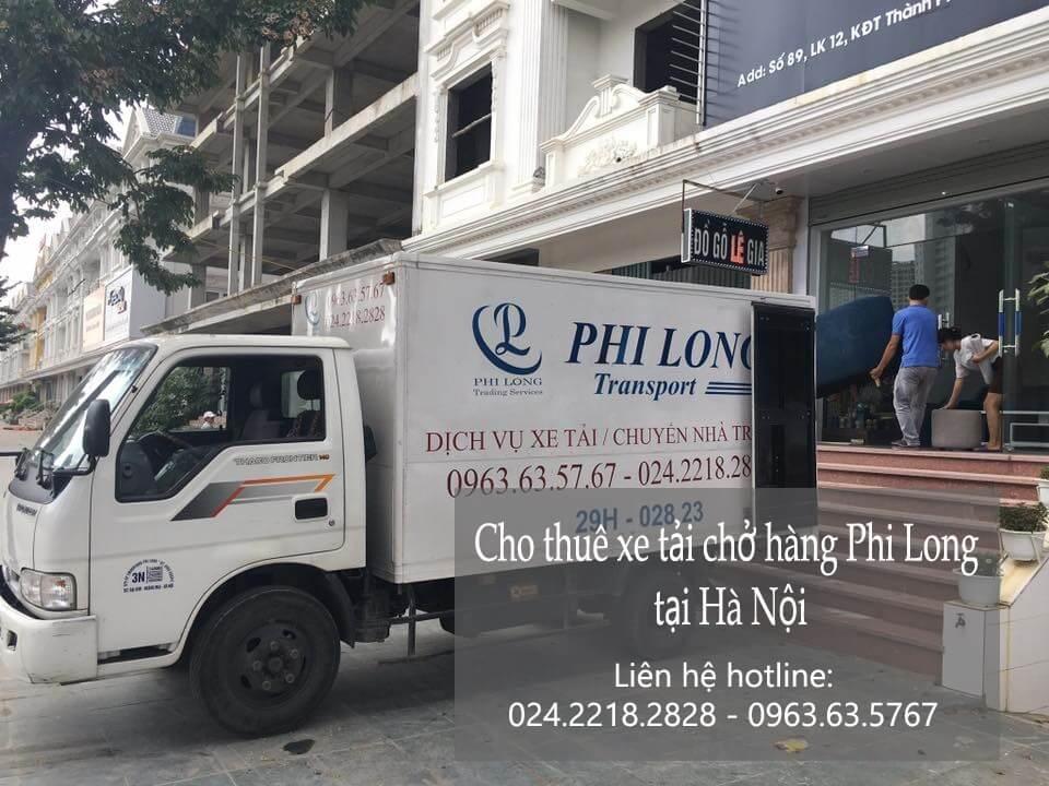 Dịch vụ taxi tải Hà Nội tại phố Liễu Giai
