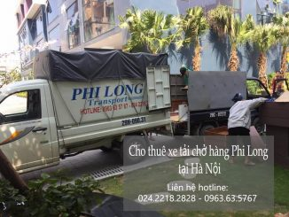 Dịch vụ taxi tải Hà Nội tại phố Hồ Đắc Di