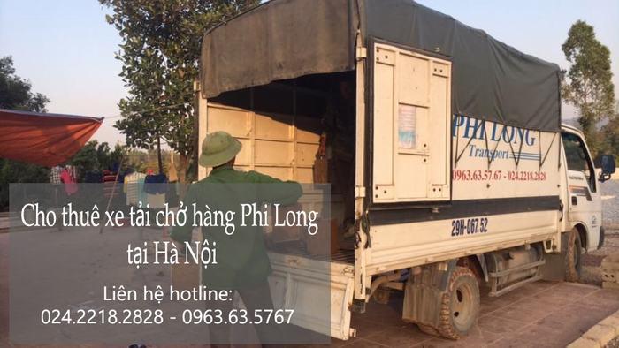 Dịch vụ taxi tải Hà Nội tại phố Giang Biên