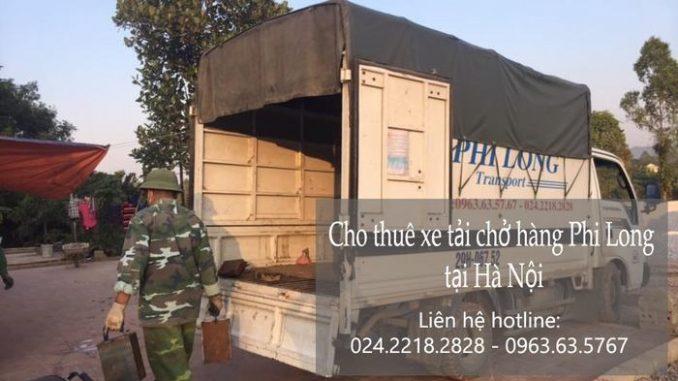 Dịch vụ taxi tải Hà Nội tại phố Hàng Chiếu