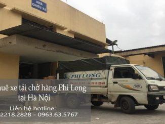 Dịch vụ taxi tải Hà Nội tại phố Đoàn Thị Điểm