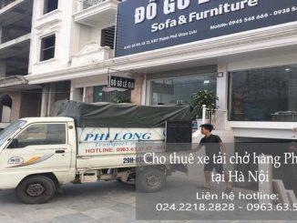 Dịch vụ taxi tải Hà Nội tại phố Ấu Triệu