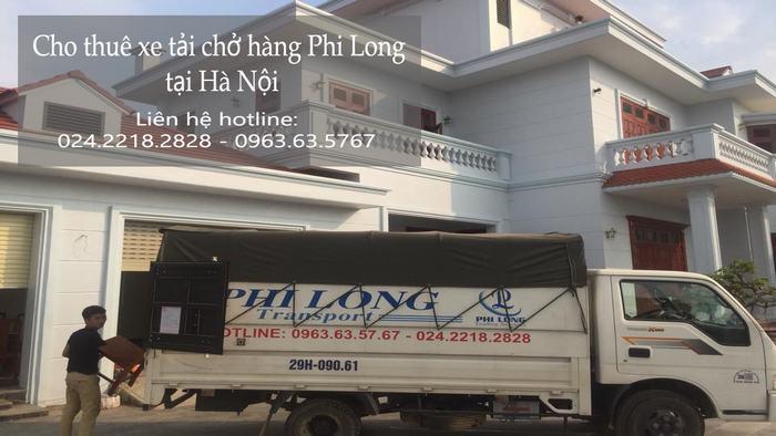 Taxi tải Phi Long tại phố Hàng Đậu