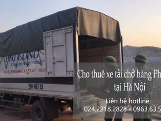 Dịch vụ taxi tải Hà Nội tại phố Tư Đình