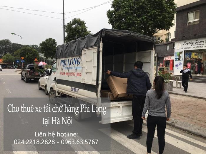 Taxi tải Hà Nội tại phố Đinh Lễ